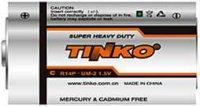 Baterie TINKO C(R14) Zn-Cl, MJ=1ks