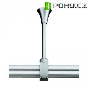 Úchyt pro kolejnicový systém SLV Easytec II, 184042, délka 10 cm, stříbrná/šedá