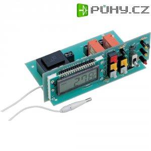 LCD teplotní spínací stupeň, -5 až 50 °C, 230 V/AC (stavebnice)