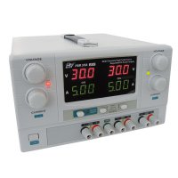 Zdroj laboratorní PSM3/5A 2x0-30V/2x0-5A+(5V-1A)