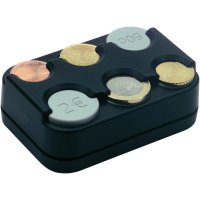 Zásobník na Euro mince Betec, 0857, pro 6 mincí