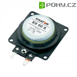 Elektrodynamický budič Visaton EX 60S (4506), AWG 8 Ω