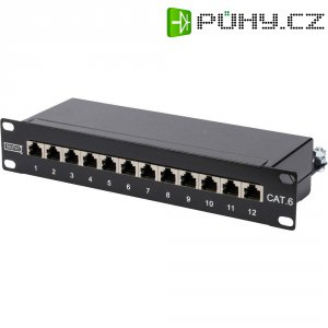 Patch panel CAT6 Digitus, DN-91612S, 12x port