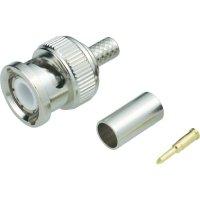 BNC kabel. zástrčka krimp. TE Connectivity 1-1337428-0, 75 Ω, 4 GHz