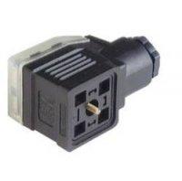 Napájecí prům. konektor M16 Hirschmann GDME 3020 (934 455-100), šroubové připojení, černý
