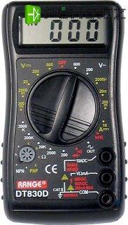 Multimetr DT830D s akustickou signalizací