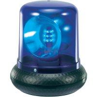 Policejní maják, 230 V, 176 mm, modrá