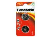 Baterie CR2016 PANASONIC lithiová 2BP