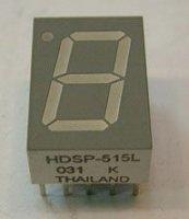 HDSP-515H zobrazovač 7seg. LED červený spol. anoda