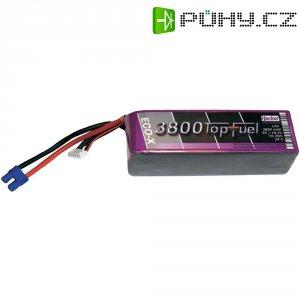 Akupack Li-Pol (modelářství) Hacker, 18.5 V, 3800 mAh, 20 C, EC3