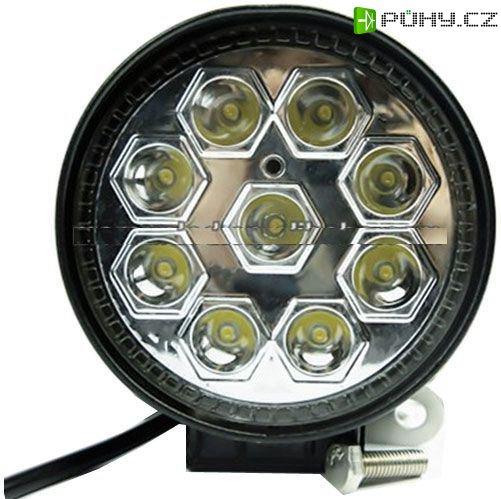 Pracovní světlo LED 10-30V/27W dálkové - Kliknutím na obrázek zavřete