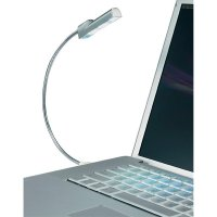 USB lampička s husím krkem a 3LED