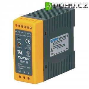 Napájecí zdroj na DIN lištu Cotek DN 40-15, 2,7 A, 15 V/DC