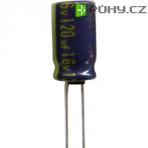 Kondenzátor elektrolytický Panasonic hliník EEUFC1C102SB, 1000 µF, 16 V, 20 %, 20 x 10 x 10 mm