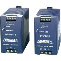 Zdroj na DIN lištu TDK-Lambda DPP30-12, 12 V/DC, 2,5 A