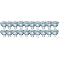 Halogenová žárovka Osram, GU5.3, 20 W, 46 mm, stmívatelná, transparentní, 20 kusů