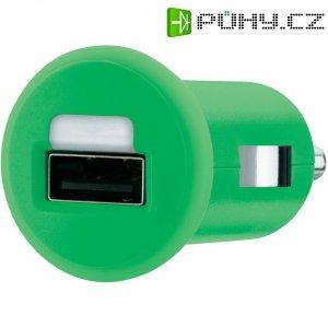 USB nabíječka do auta Belkin F8J018cwGRN, zelená
