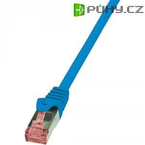 Patch kabel LogiLink CAT6 S/FTP, modrá, 7,50 m