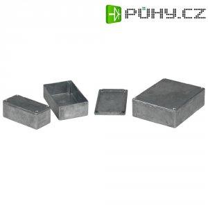 Tlakem lité hliníkové pouzdro Eddystone Hammond Electronics 11130PSLA, 125 x 125 x 79