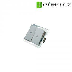 Tlačítko pro ovládání žaluzií GAO Nova 4235, 250 V/AC, 10 A, bílá