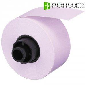Casio Labemo páska, XA-12PK1, 12 mm, růžová/černá