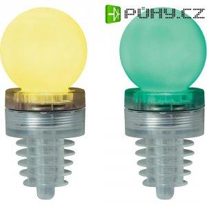 Párty špunt s LED osvětlením TiP Party Cork Ball, 3857, zelená/žlutá
