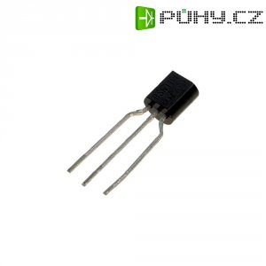 Tranzistor MOSFET (≤1 W ) ON Semiconductor BS 170 RL1 5 Ω (při ID = 200 mA), 60 V, 0,5 A TO