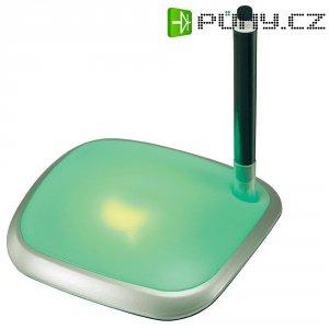 USB hub, 3x USB 2.0 s podsvícenným notepadem