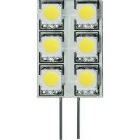LED žárovka Diodor, G4, 1,2 W, 30 V, stmívatelná, teplá bílá