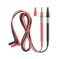Měřicí kabel banánek 4 mm ⇔ měřící hrot 4 mm Benning, 1 m, černá/červená