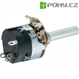 Otočný potenciometr se spínačem Mono 0.5 W 1 kOhm TT Electronics AB 104701781 1 ks