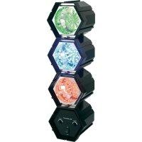 LED efektové DISCO světla TM-7011-3L, 3kanálový, Červená, modrá, žlutá/oranžová