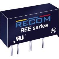 DC/DC měnič Recom REE-0505S (10016267), vstup 5 V/DC, výstup 5 V/DC, 200 mA, 1 W