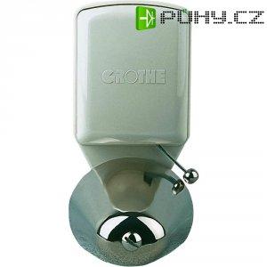 Malý zvonek Grothe LTW 4477A, 24113, 8 V/AC - 12 V/AC, 85 dBA, stříbrná/šedá
