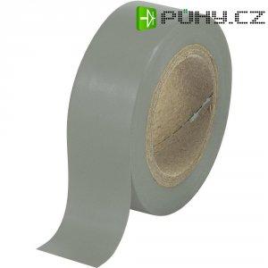Izolační páska SW12-014GY, 93014c601, 19 mm x 25 m, šedá