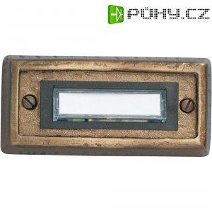 Destička se zvonkovým tlačítkem Heidemann Alpin, 70301, max. 24 V/1 A, bronz