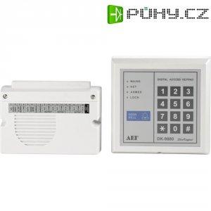 Kódová klávesnice, 12 V/AC/DC, 3kanálová