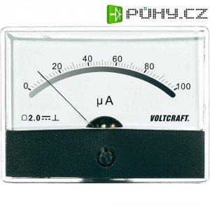 Analogové panelové měřidlo VOLTCRAFT AM-86X65/100µA 100 µA