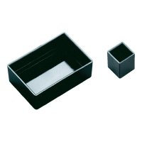 PRÁZDNÁ MODULOVÁ SKŘÍŇ OKW, (d x š x v) 20 x 20 x 13 mm, černá