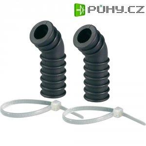 Silikonové koleno vzduchového filtru Reely, černá, 2,11 - 2,95 cm3, 1 pár