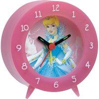 Dětský budík Princess III, růžová