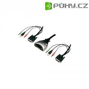 USB přepínač KVM Digitus DC-11802, 2 porty, DVI