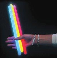 Svítící tyčinka 30 cm žlutá (chemické světlo)