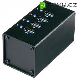 USB 3.0 hub s adaptérem, 4-portový