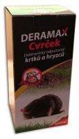 Odpuzovač krtků, hryzců - zvukový a vibrační, bateriový DERAMAX-CVRČEK