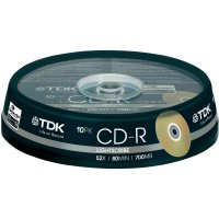 TDK CD-R80 700MB 52X 10 ks SP LIGHT