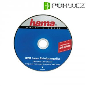 Čistící DVD disk Hama, 48496