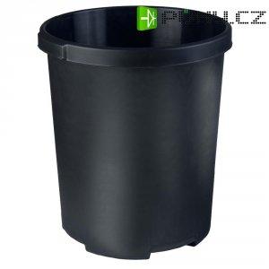 Koš na papír XXL, černý, 50 litrů