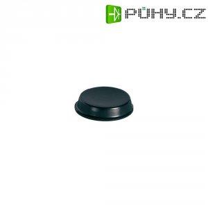 Samolepicí přístrojové nožičky, kulaté, polyuretan, 19,1 mm x 4,1 mm, 7 ks, černá