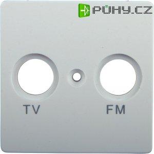 Kryt zásuvky TV/FM GAO Nova, 4237, bílá